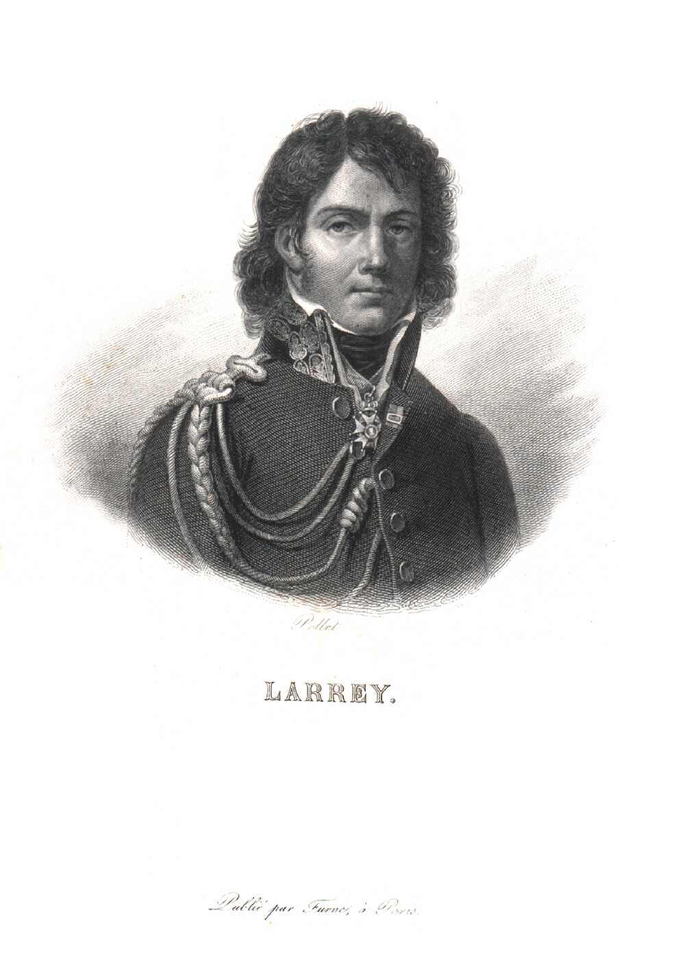 Portrait of Dominique Jean Larrey,  Image number:SIL14-L002-07a