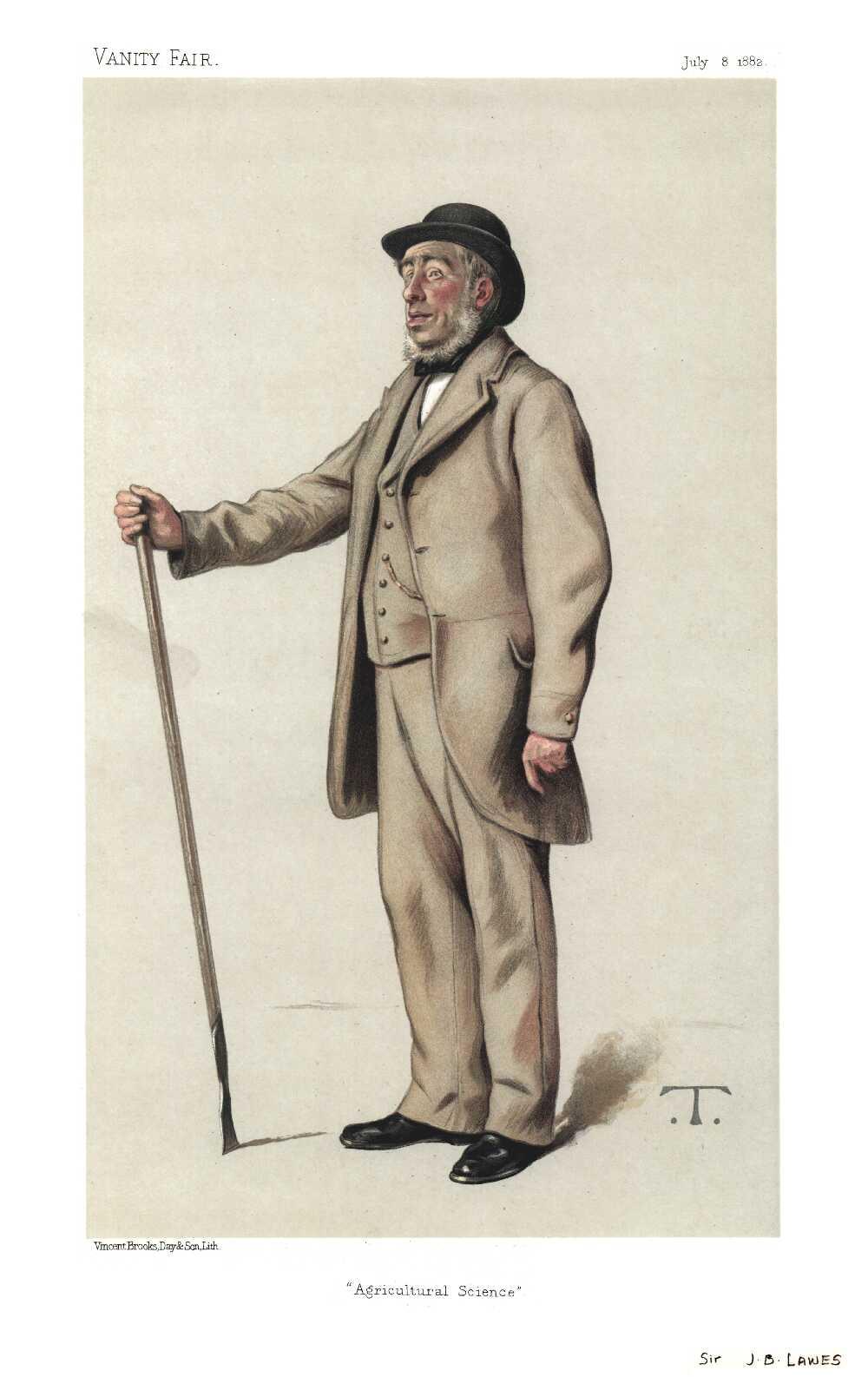 Portrait of John Bennet Lawes,  Image number:SIL14-L002-12a