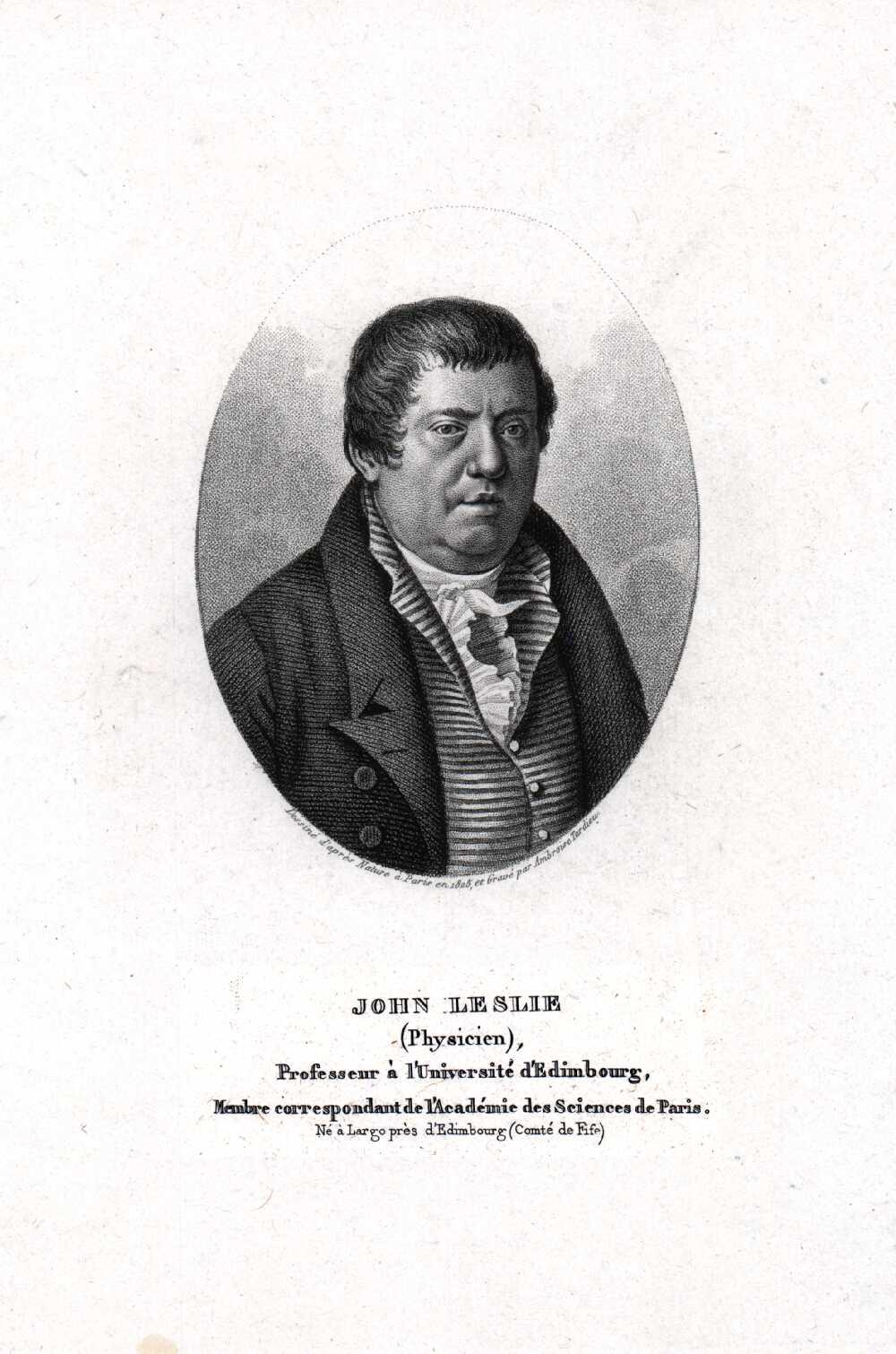 Portrait of John Leslie,  Image number:SIL14-L003-11a