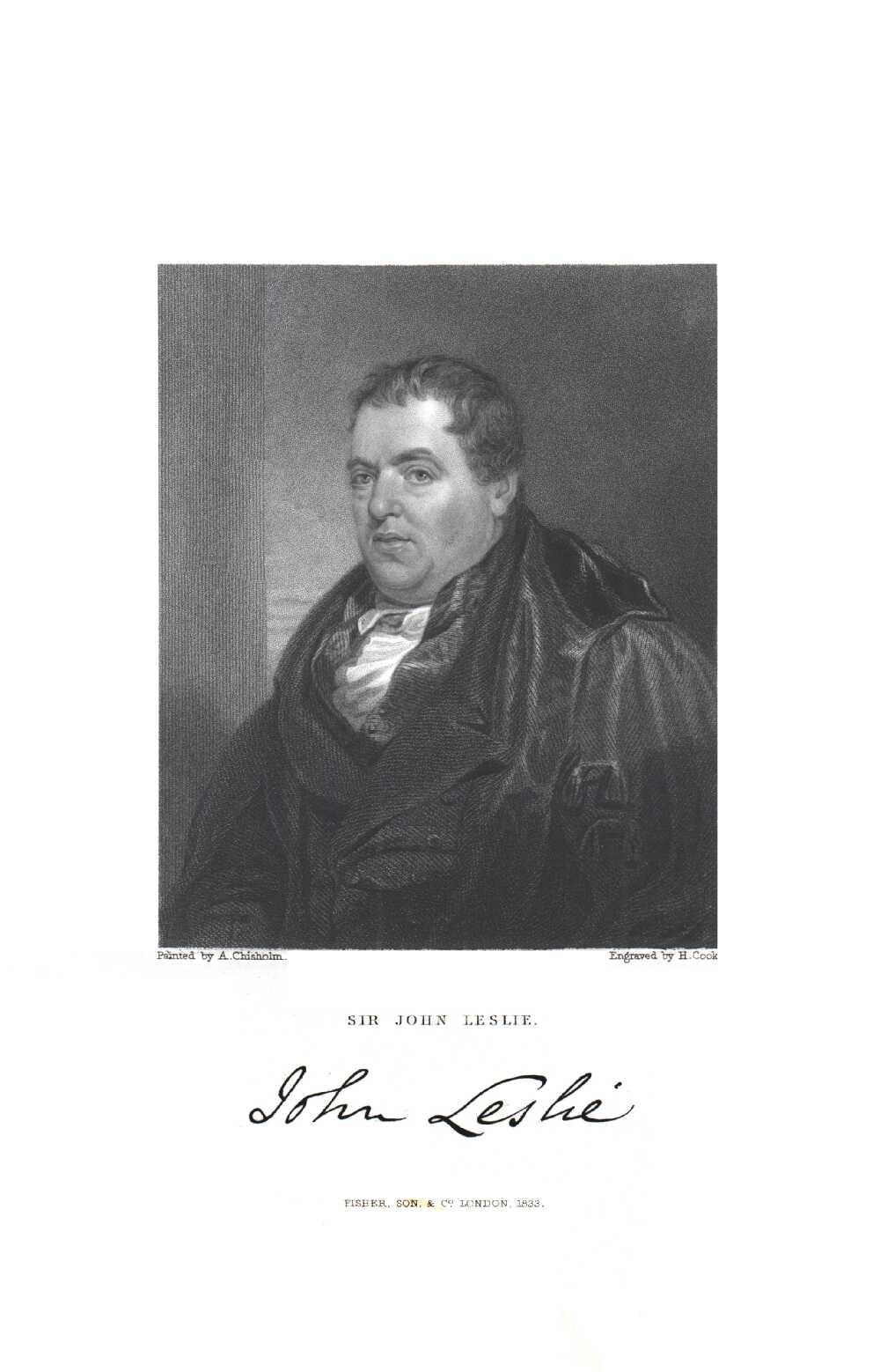 Portrait of John Leslie,  Image number:SIL14-L003-12a