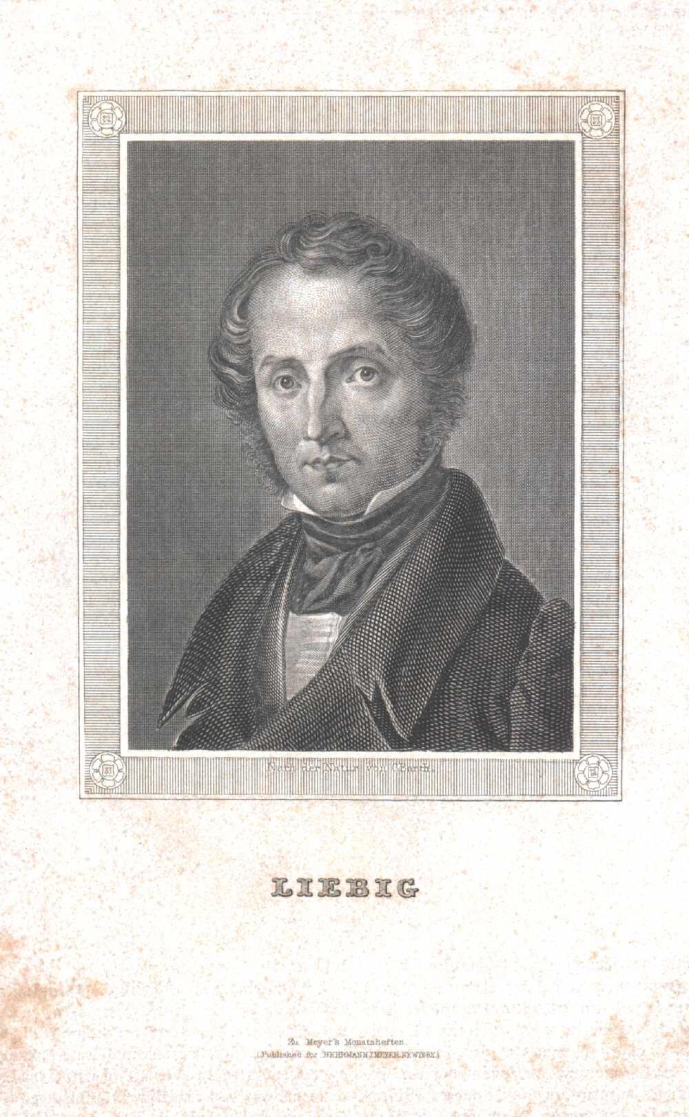 Portrait of Justus Liebig,  Image number:SIL14-L004-06a