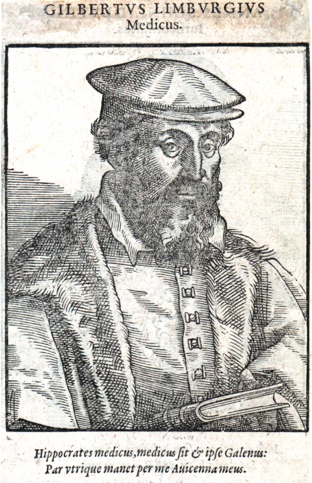 Portrait of Gilbert à Limburg,  Image number:SIL14-L004-08a