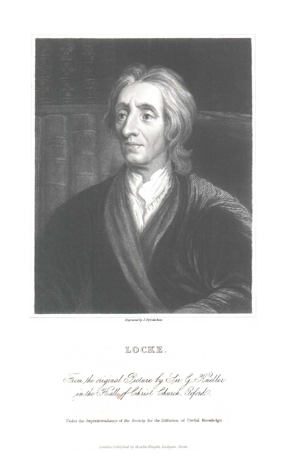 Portrait of John Locke,  Image number:SIL14-L005-04a