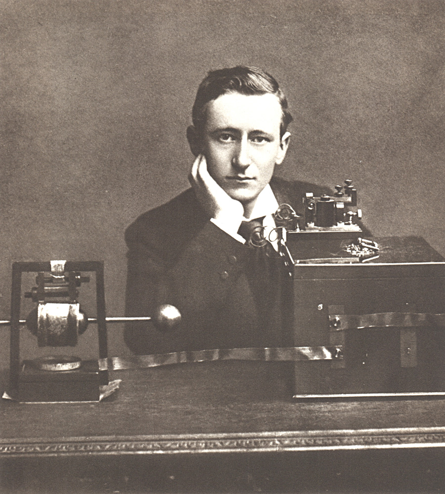 Portrait of Guglielmo Marconi,  Image number:SIL14-M001-13a