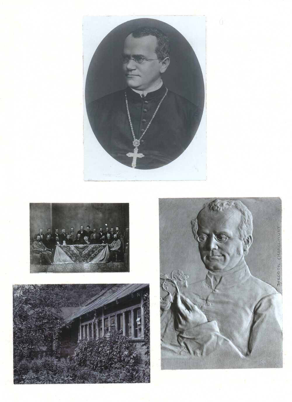 Portrait of Gregor Mendel,  Image number:SIL14-M003-04a