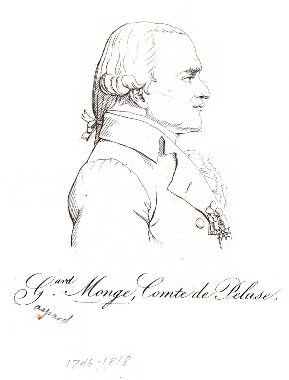 Portrait of Gaspard Monge,  Image number:SIL14-M005-04a