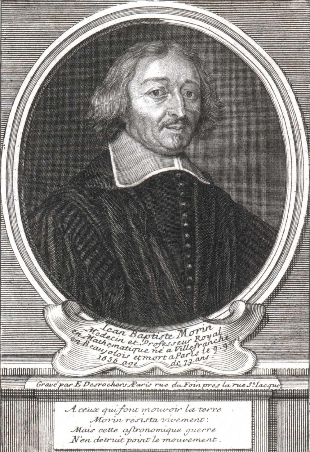 Portrait of Jean Baptiste Morin,  Image number:SIL14-M006-02a