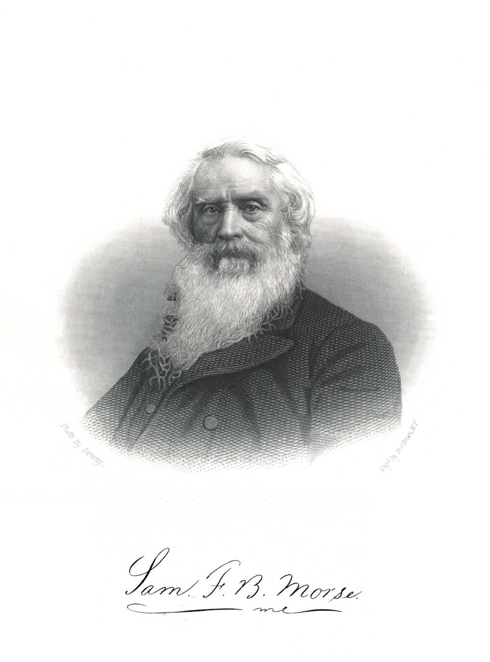 Portrait of Samuel Finley Breese Morse,  Image number:SIL14-M006-05a