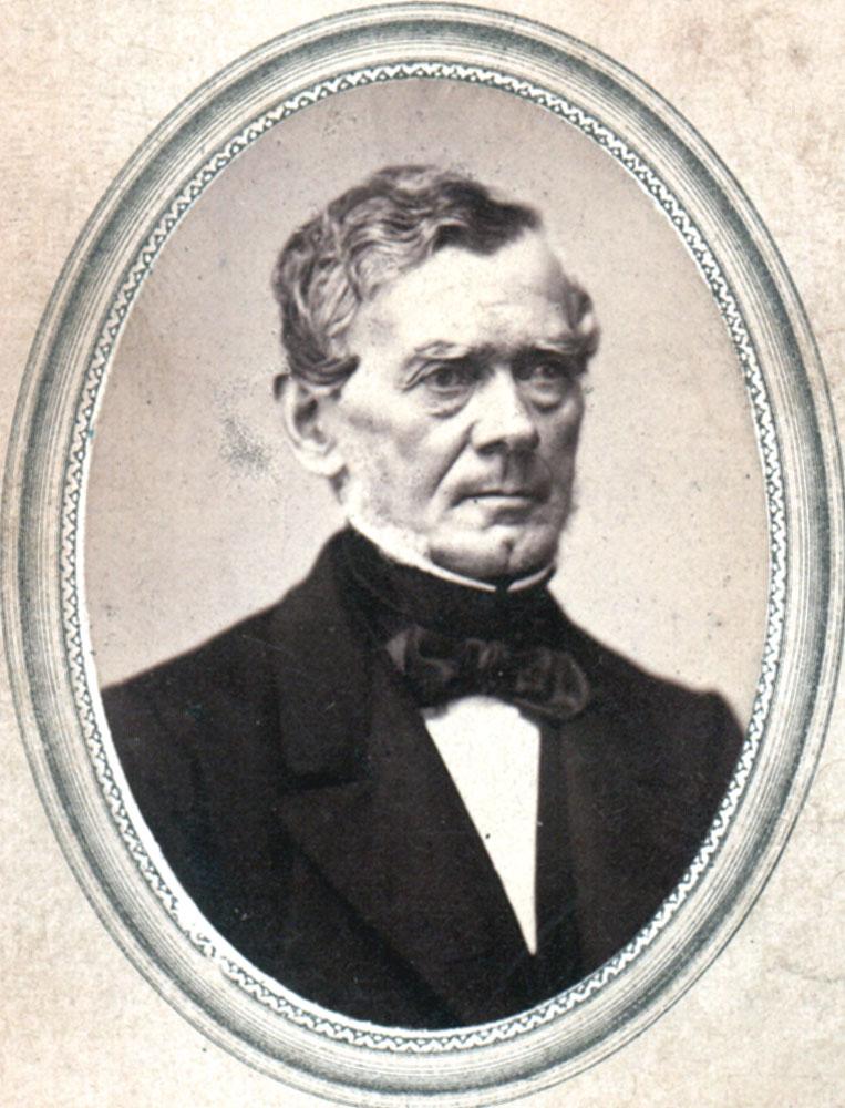 Portrait of Joseph Rudolph Albert Mousson,  Image number:SIL14-M006-12a