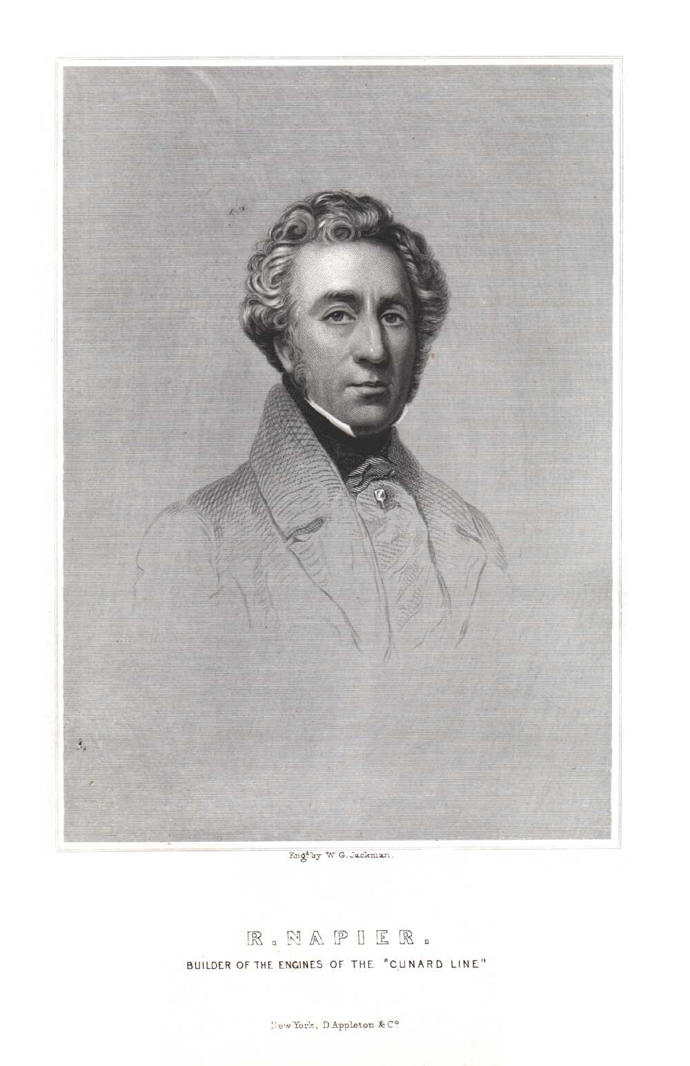 Portrait of Robert Napier,  Image number:SIL14-N001-03a