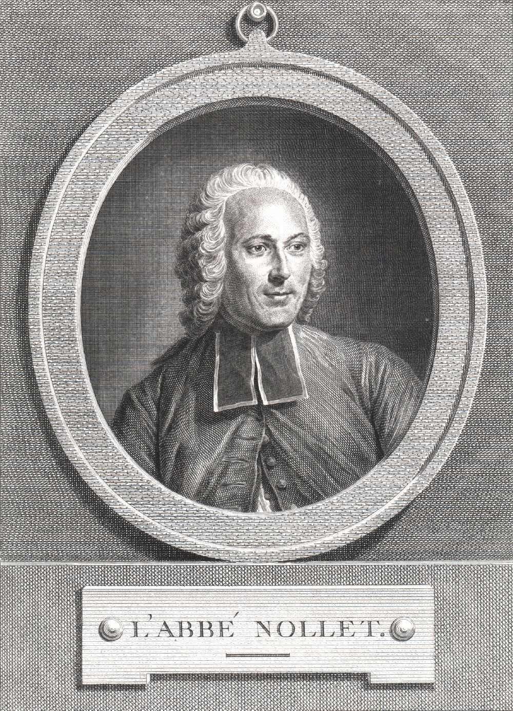 Portrait of Abbé Jean Antoine Nollet,  Image number:SIL14-N001-25a