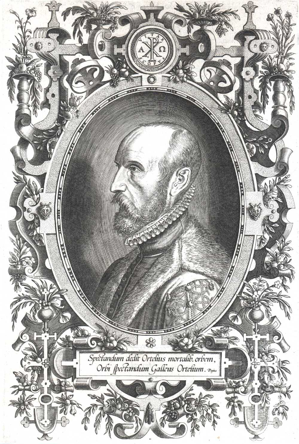 Portrait of Abraham Ortelius,  Image number:SIL14-O001-14a