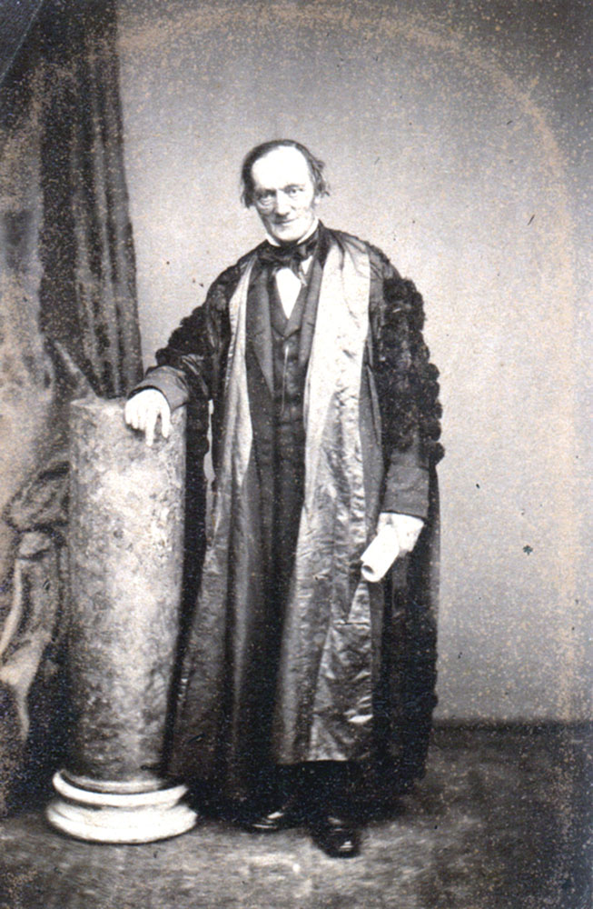 Portrait of Richard Owen,  Image number:SIL14-O001-18a