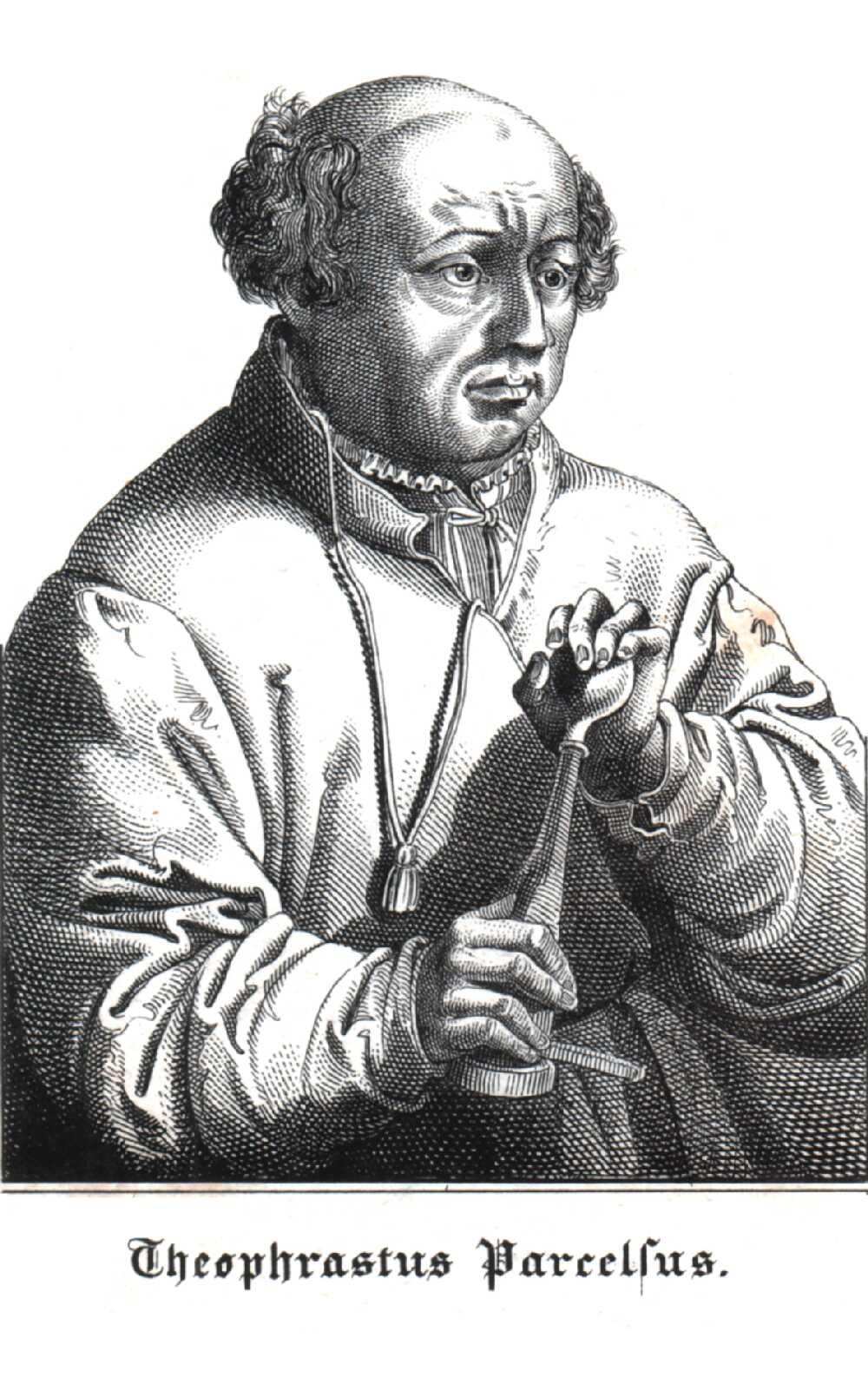 Portrait of Paracelsus,  Image number:SIL14-P001-07a