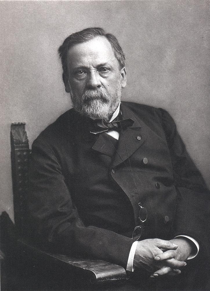 Portrait of Louis Pasteur,  Image number:SIL14-P002-04a