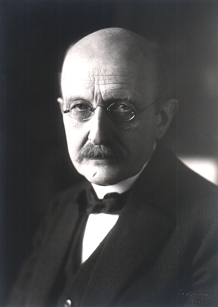 Portrait of Max Planck,  Image number:SIL14-P004-01a