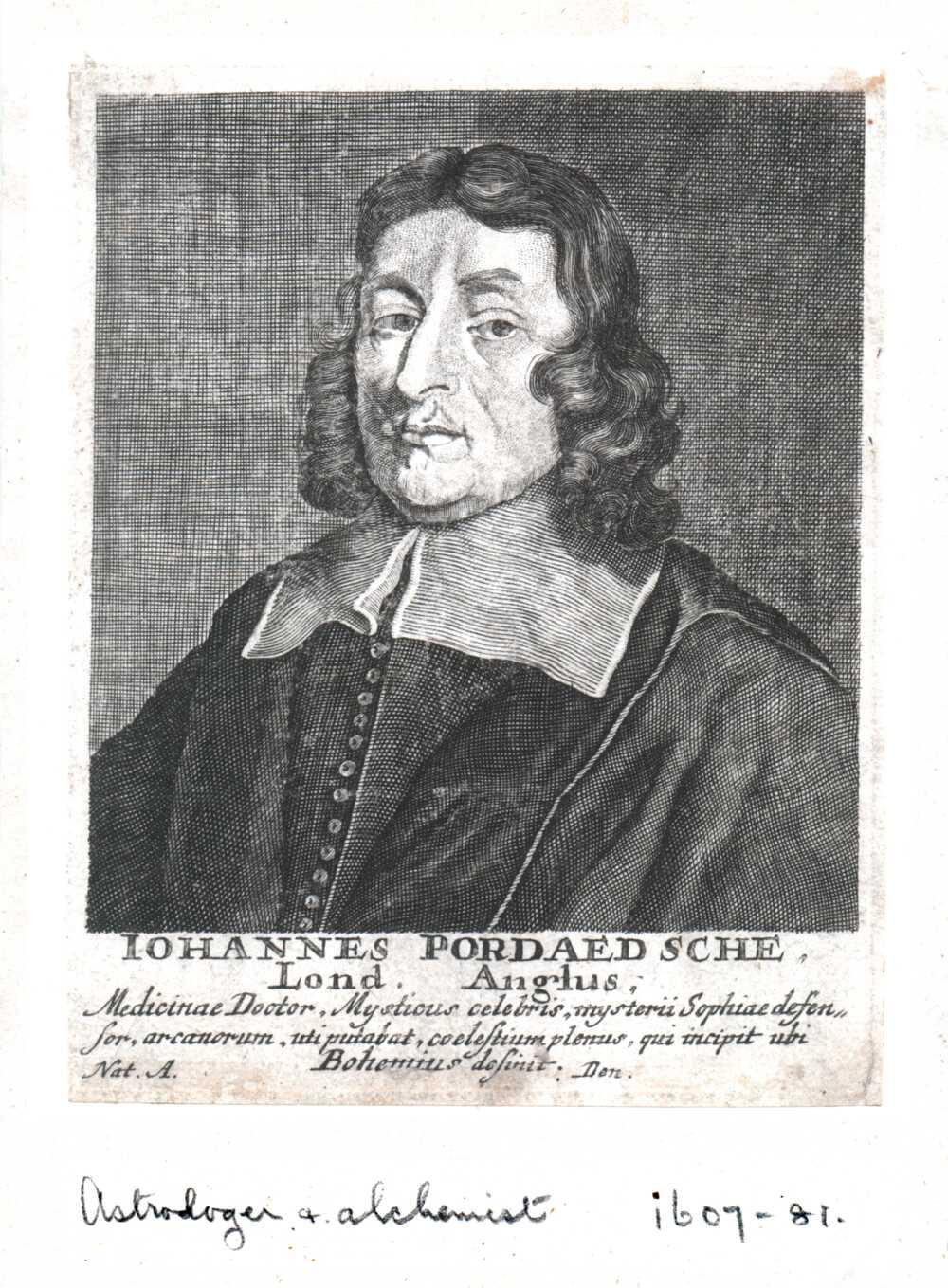 Portrait of John Pordage,  Image number:SIL14-P005-10a