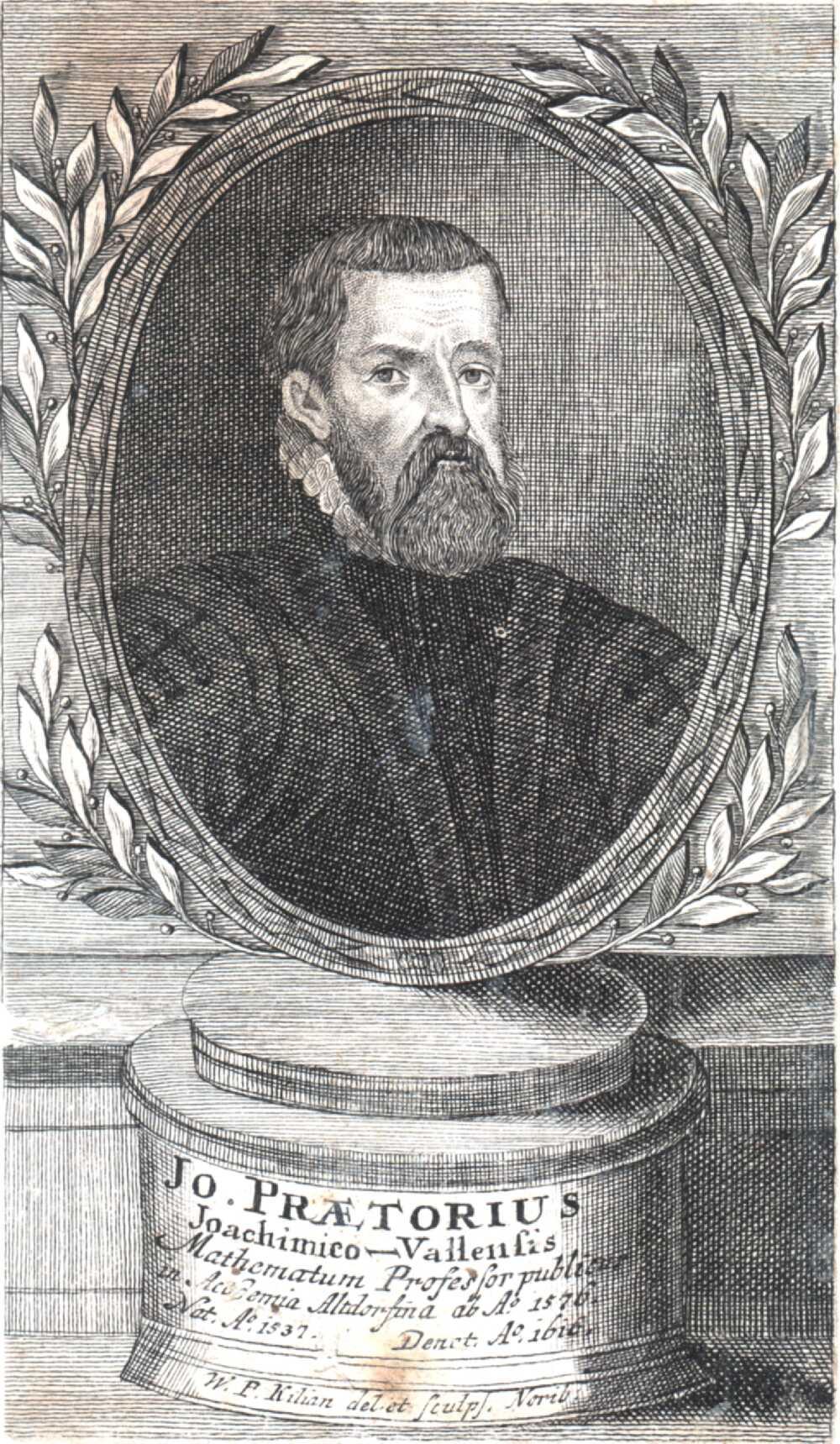Portrait of Johann Praetorius,  Image number:SIL14-P006-01a