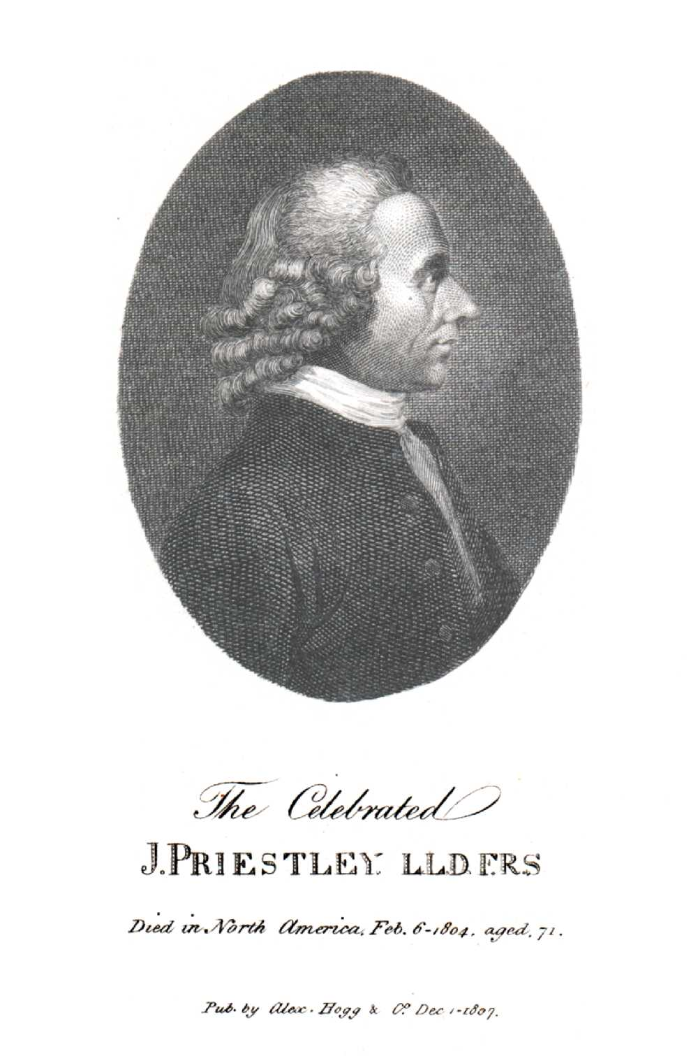 Portrait of Joseph Priestley,  Image number:SIL14-P006-02a