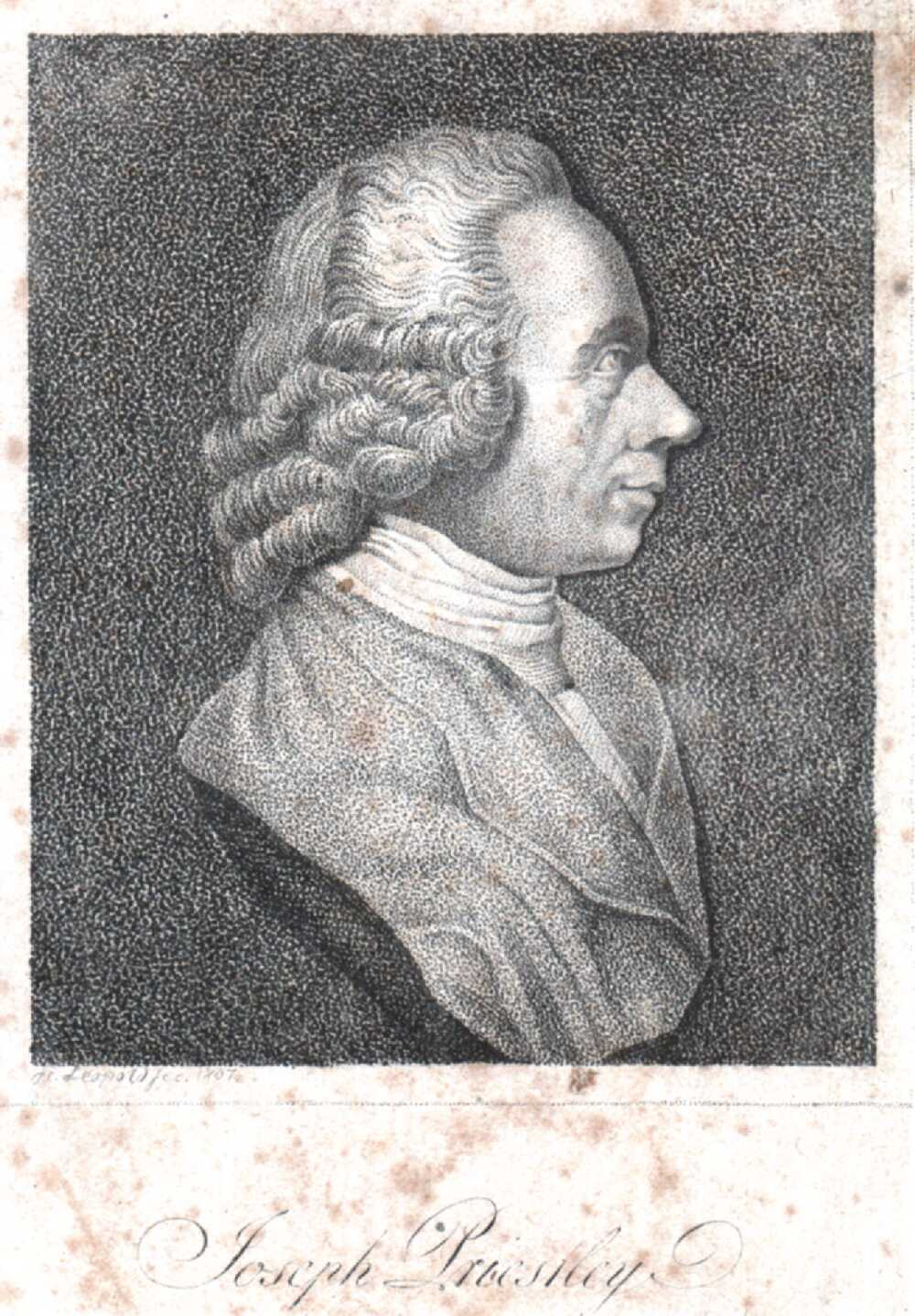Portrait of Joseph Priestley,  Image number:SIL14-P006-03a