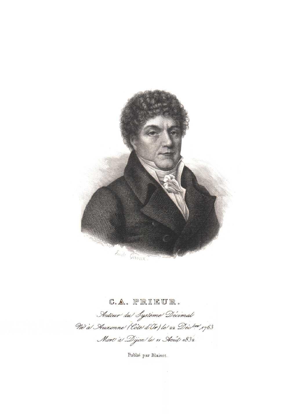 Portrait of Claude Antoine Prieur-Duvernois,  Image number:SIL14-P006-04a
