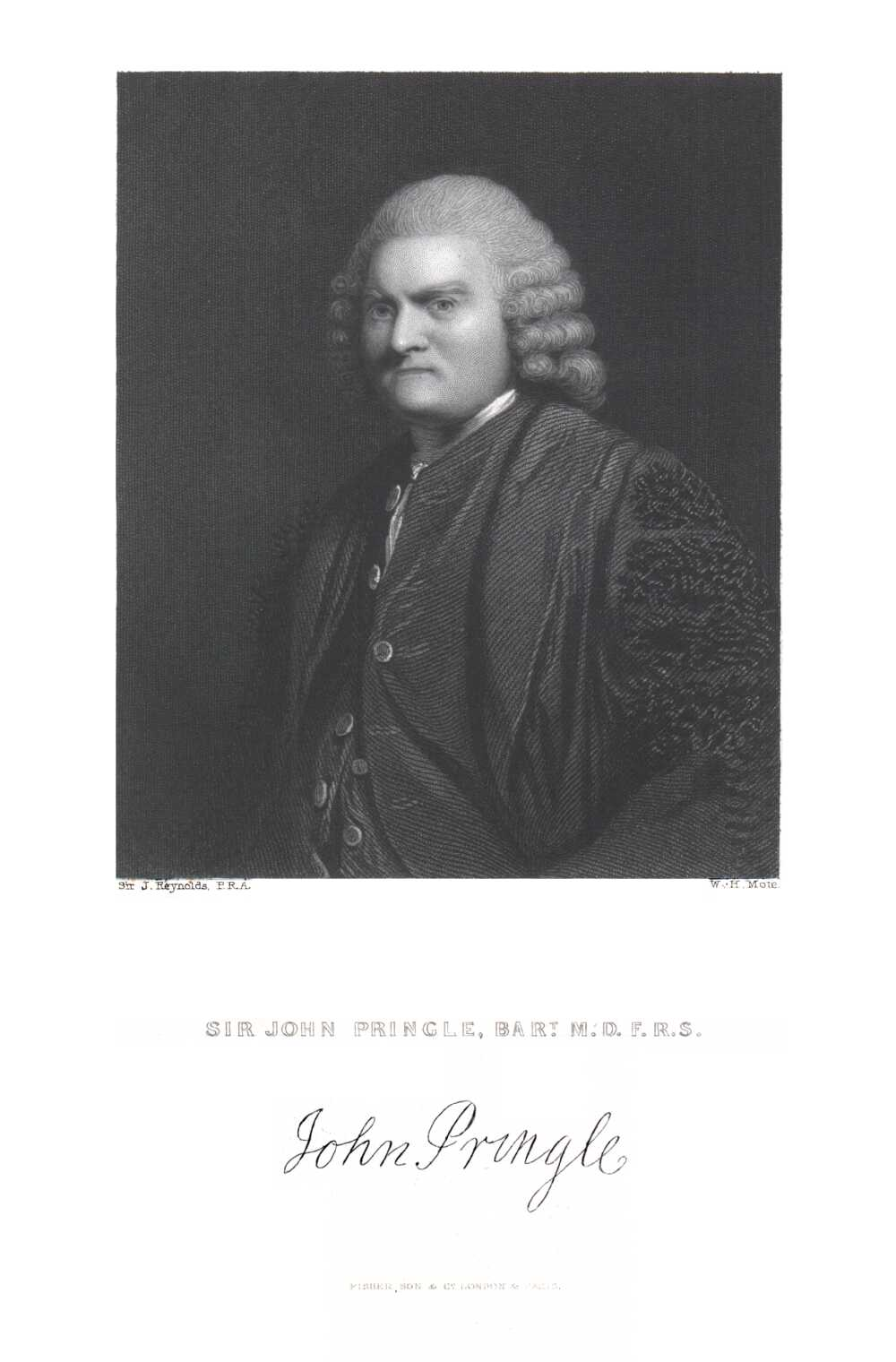 Portrait of John Pringle,  Image number:SIL14-P006-05a