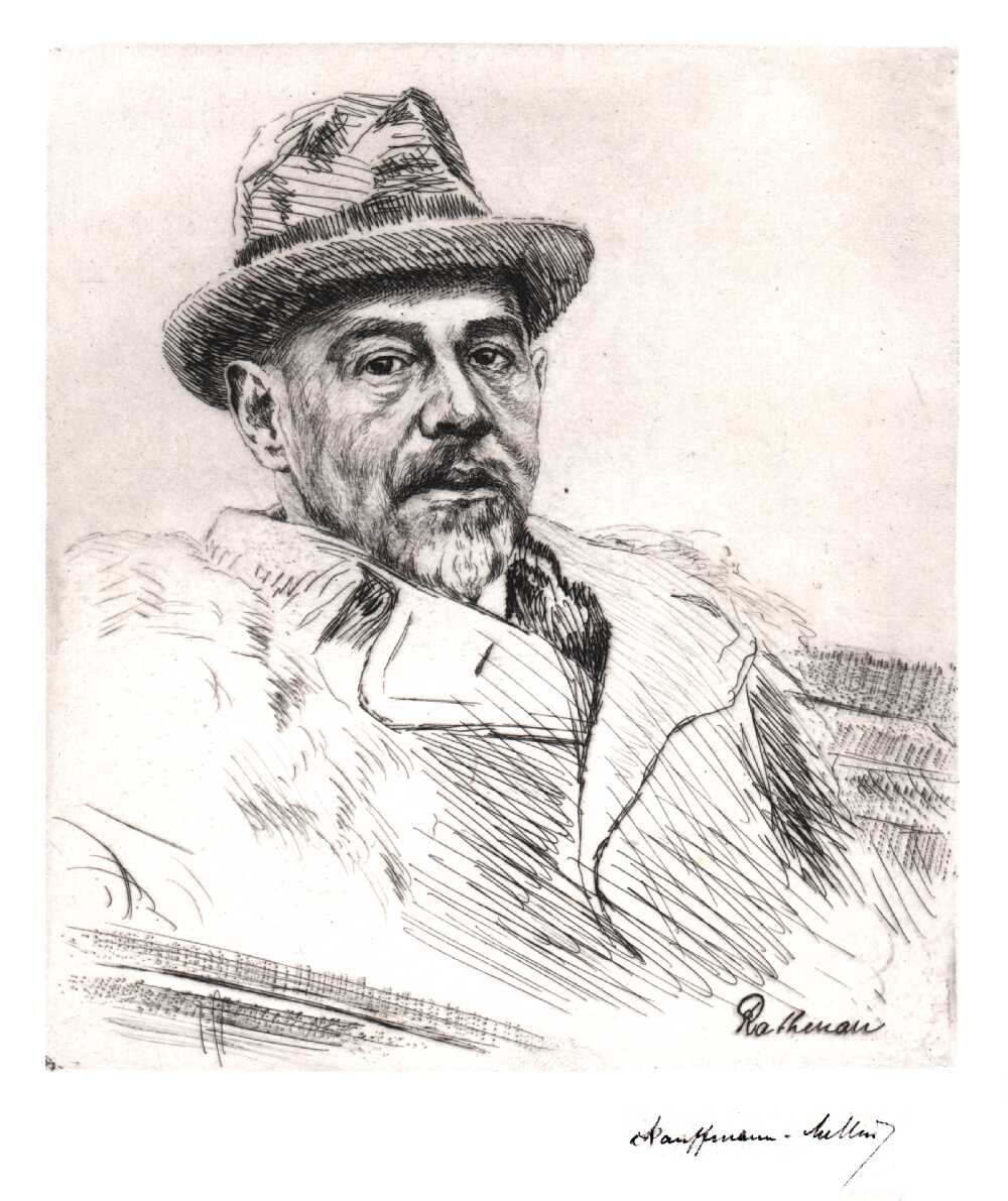 Portrait of Walther Rathenau,  Image number:SIL14-R001-09a