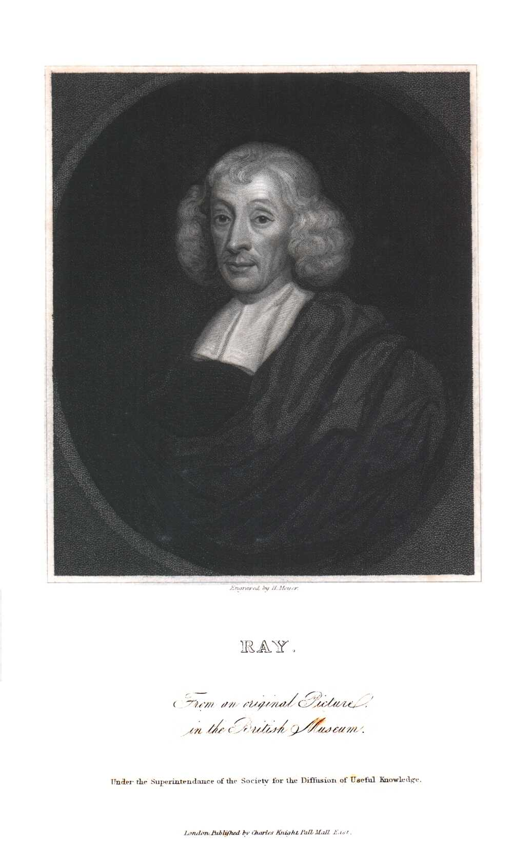 Portrait of John Ray,  Image number:SIL14-R001-10a