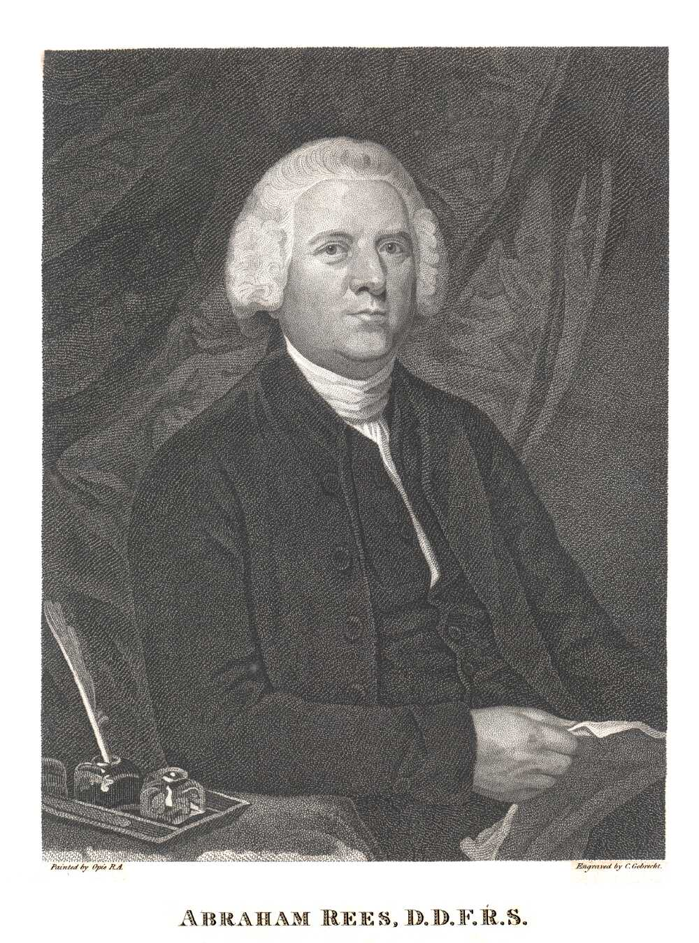 Portrait of Abraham Rees,  Image number:SIL14-R002-03a