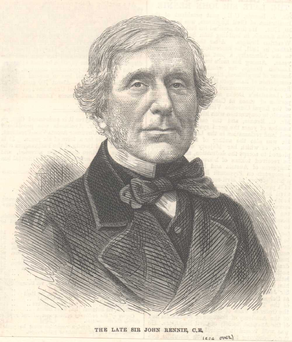 Portrait of John Rennie,  Image number:SIL14-R002-07a