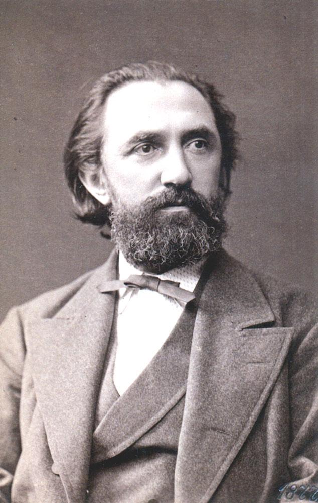 Portrait of Franz Reuleaux,  Image number:SIL14-R002-11a