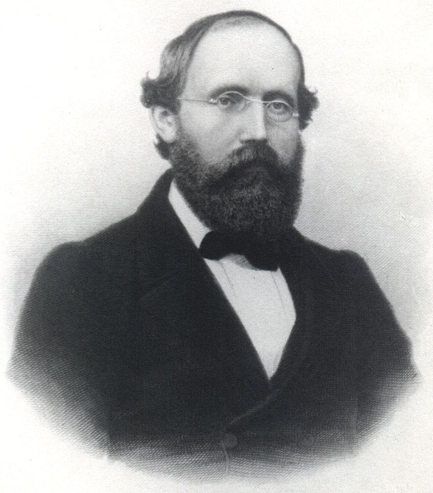 Portrait of Bernhard Riemann,  Image number:SIL14-R003-02a