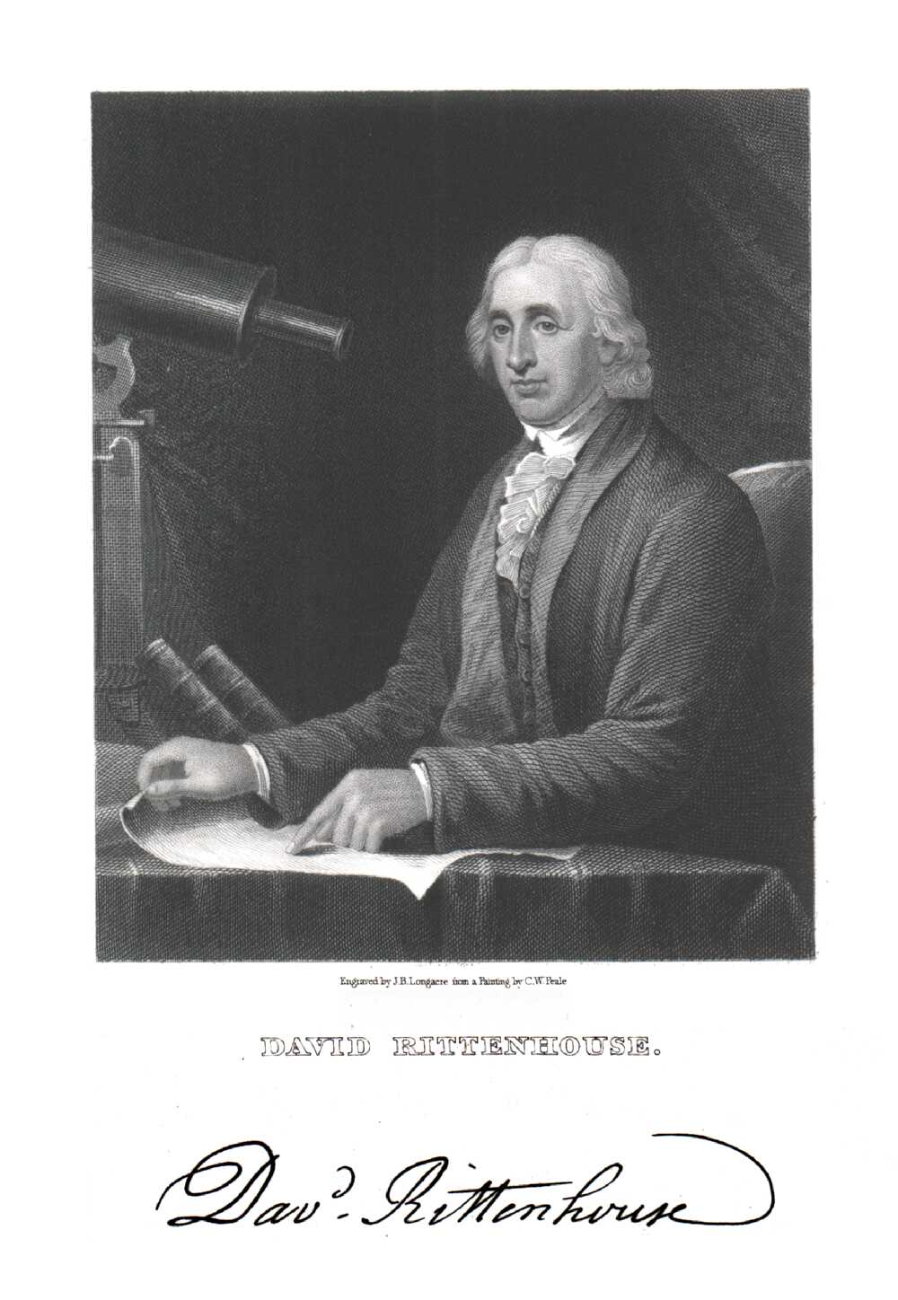 Portrait of David Rittenhouse,  Image number:SIL14-R003-05a