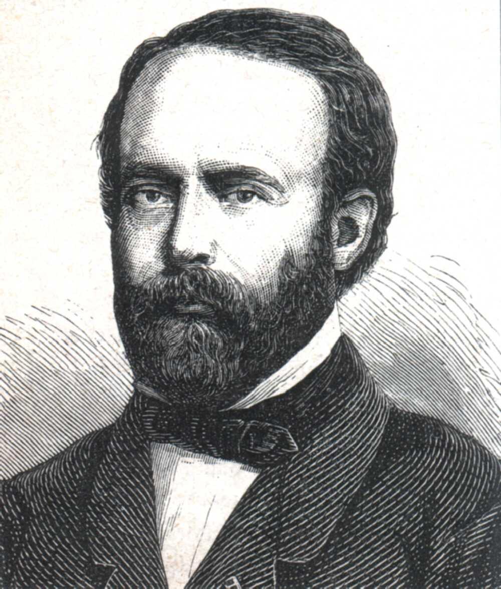 Portrait of Henri Étienne Sainte-Claire Deville,  Image number:SIL14-S001-03a