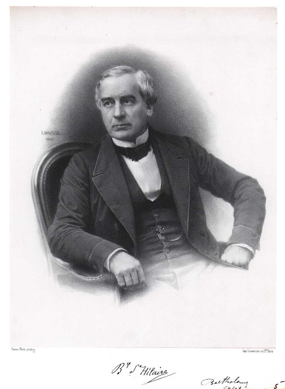 Portrait of Jules Barthélemy Saint-Hilaire,  Image number:SIL14-S001-04a