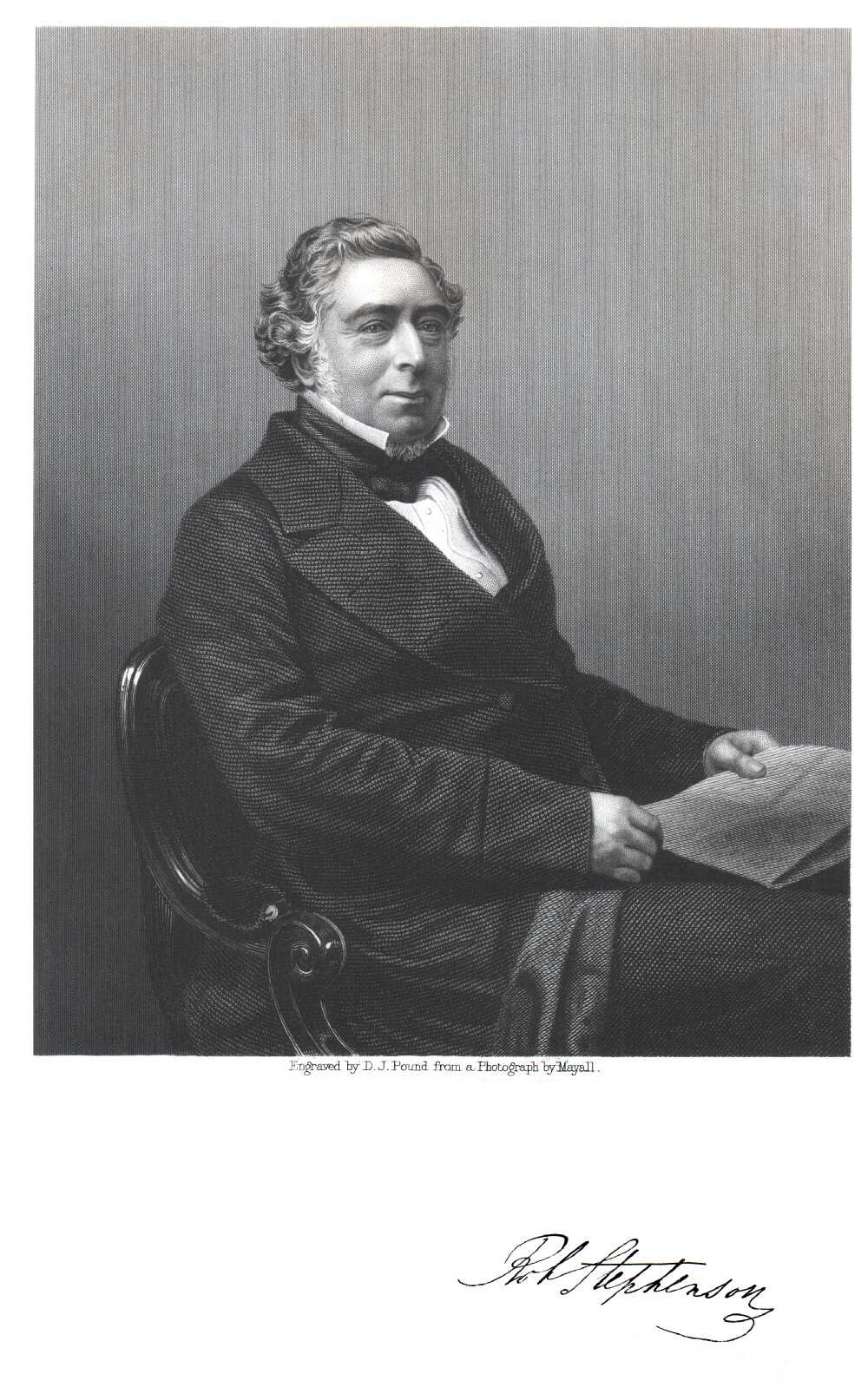 Portrait of Robert Stephenson,  Image number:SIL14-S006-09a