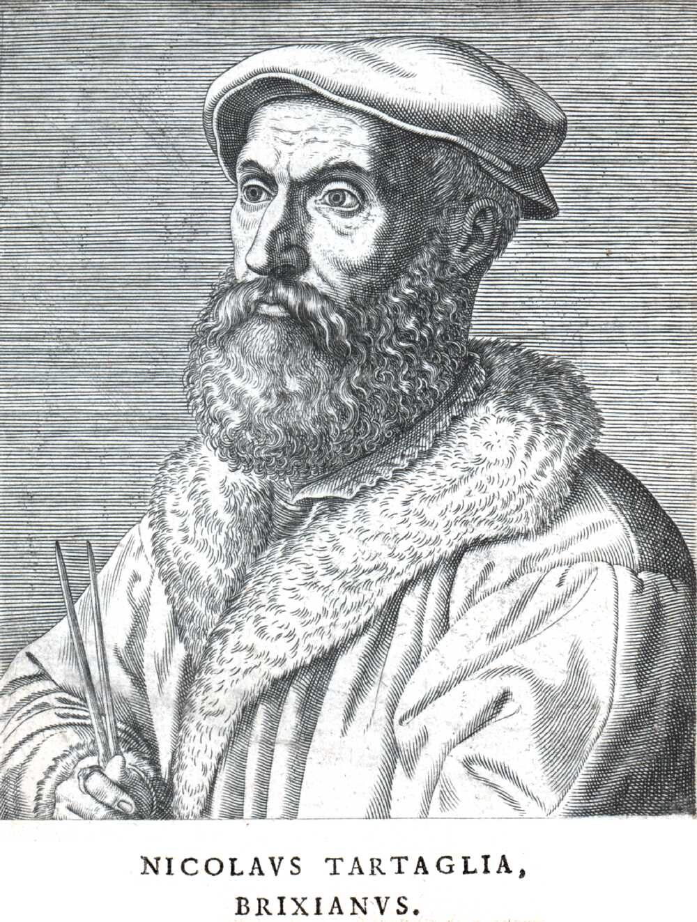 Portrait of Niccolò Tartaglia,  Image number:SIL14-T001-01a