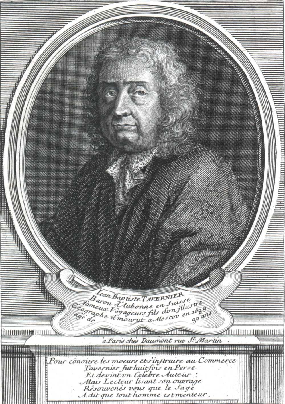 Portrait of Jean-Baptiste Tavernier,  Image number:SIL14-T001-03a