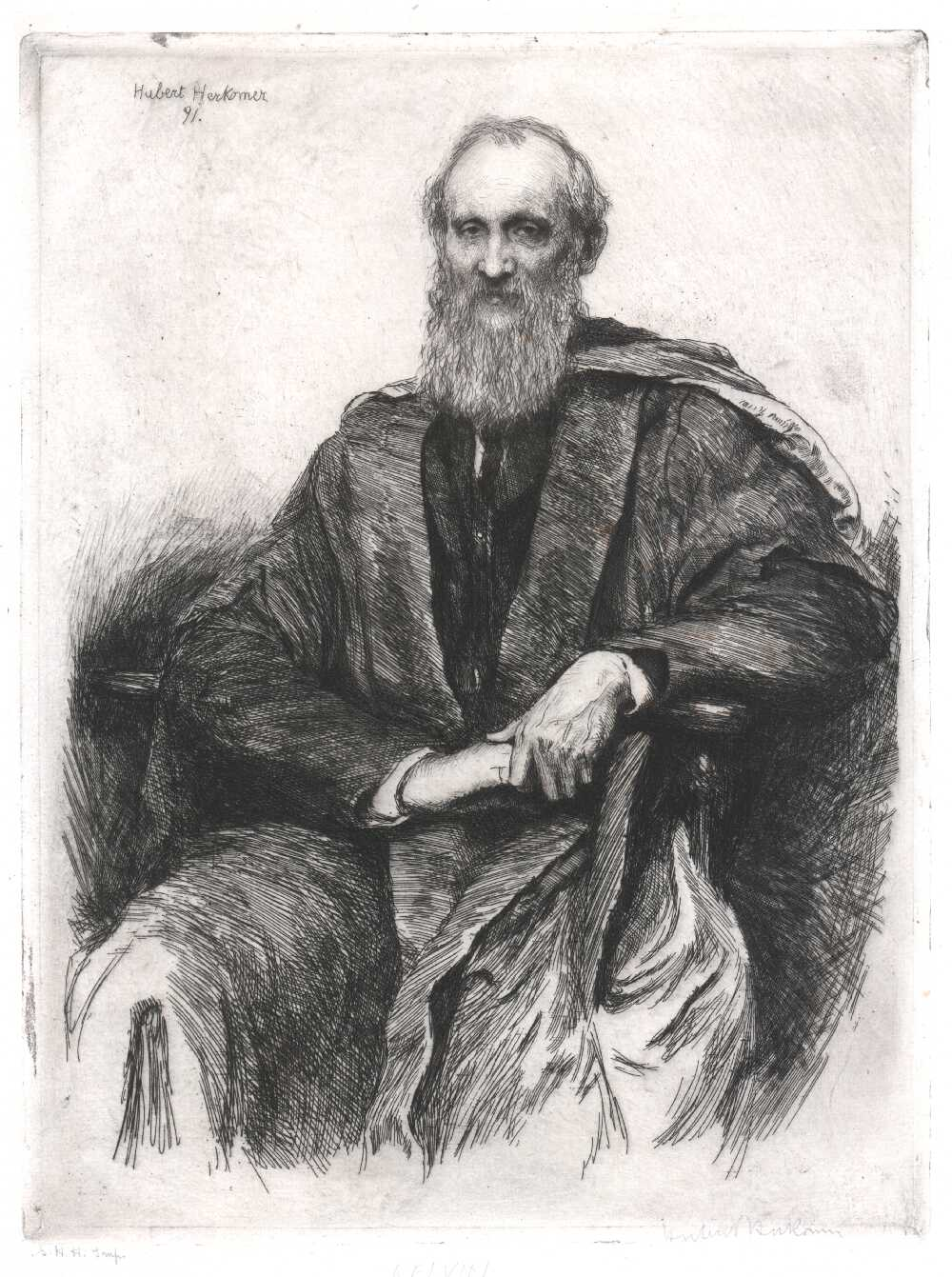 Portrait of William Thomson, Baron Kelvin,  Image number:SIL14-T002-02a