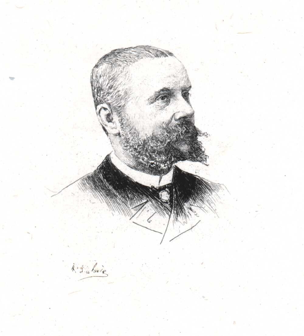 Portrait of Gaston Tissandier,  Image number:SIL14-T003-01a
