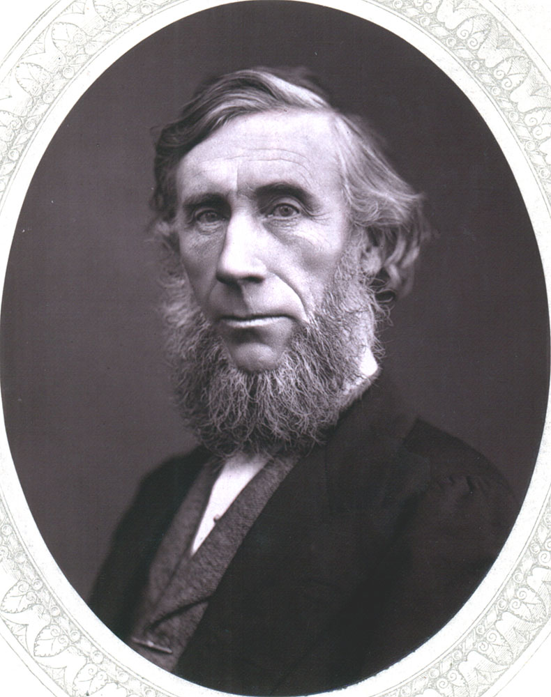 Portrait of John Tyndall,  Image number:SIL14-T003-08a