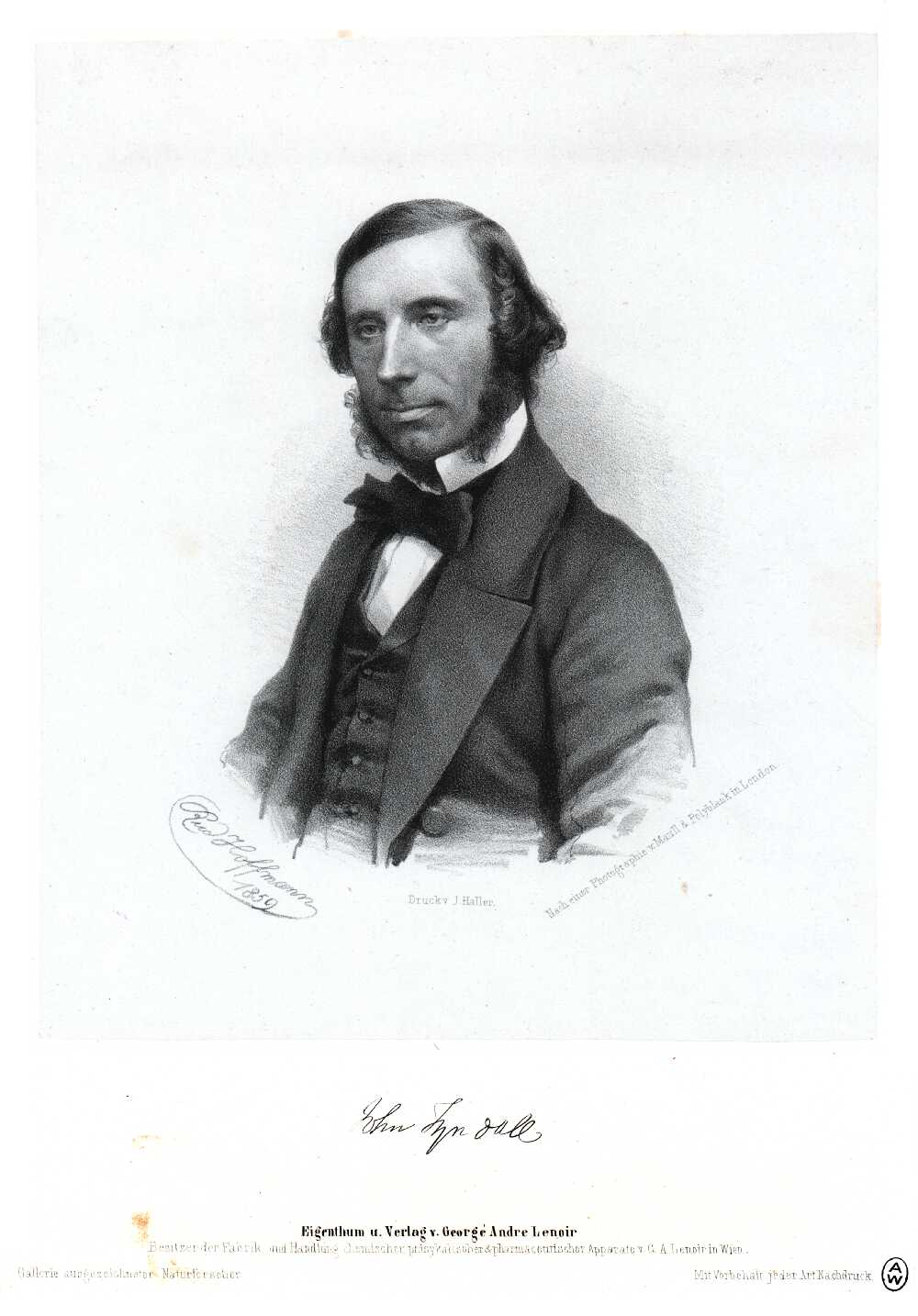 Portrait of John Tyndall,  Image number:SIL14-T003-11a