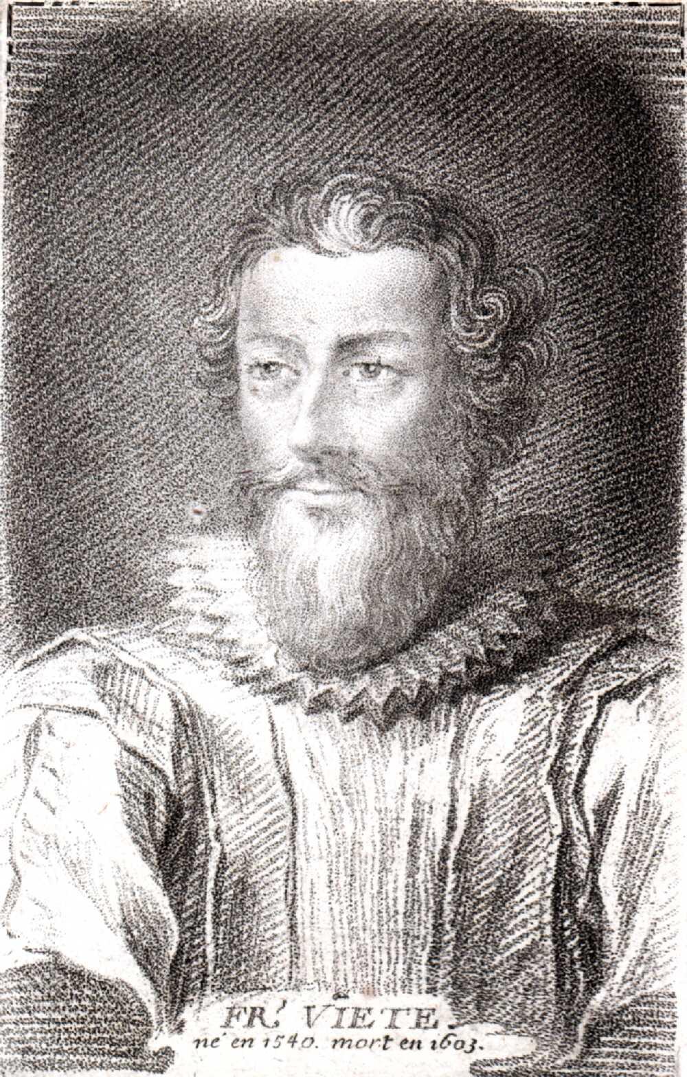Portrait of François Viète,  Image number:SIL14-V002-07a