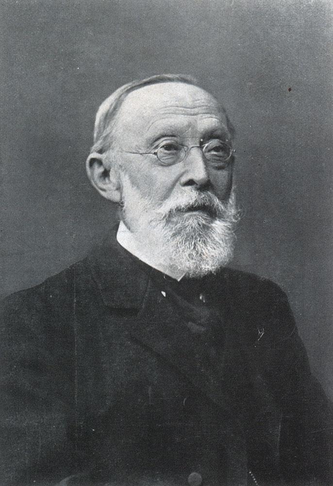 Portrait of Rudolf Ludwig Karl Virchow,  Image number:SIL14-V002-09a