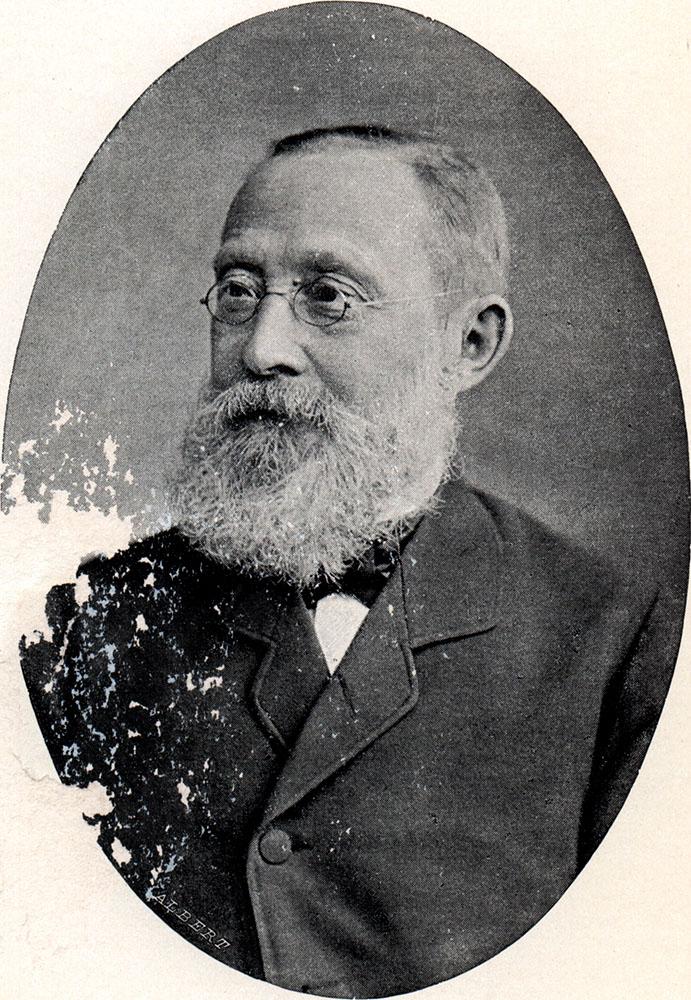 Portrait of Rudolf Ludwig Karl Virchow,  Image number:SIL14-V002-10a