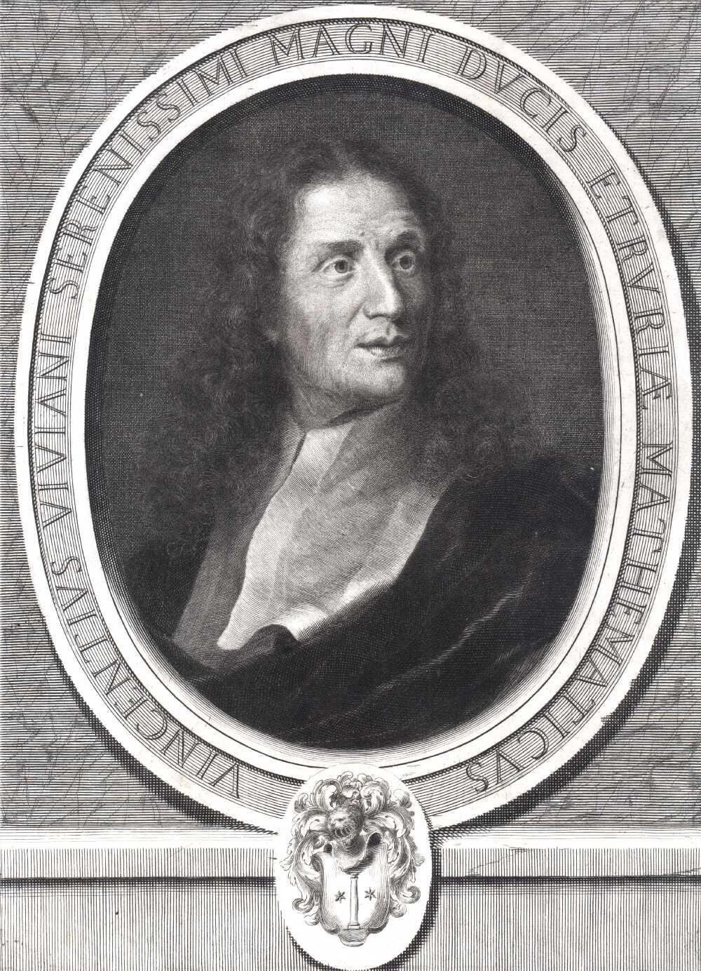 Portrait of Vincenzio Viviani,  Image number:SIL14-V002-12a