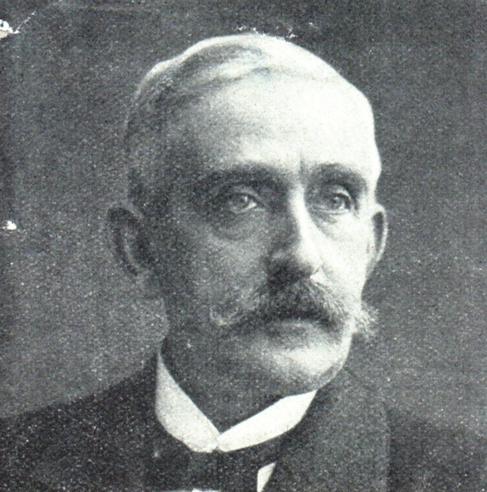 Portrait of Emil Gabriel Warburg,  Image number:SIL14-W001-05a