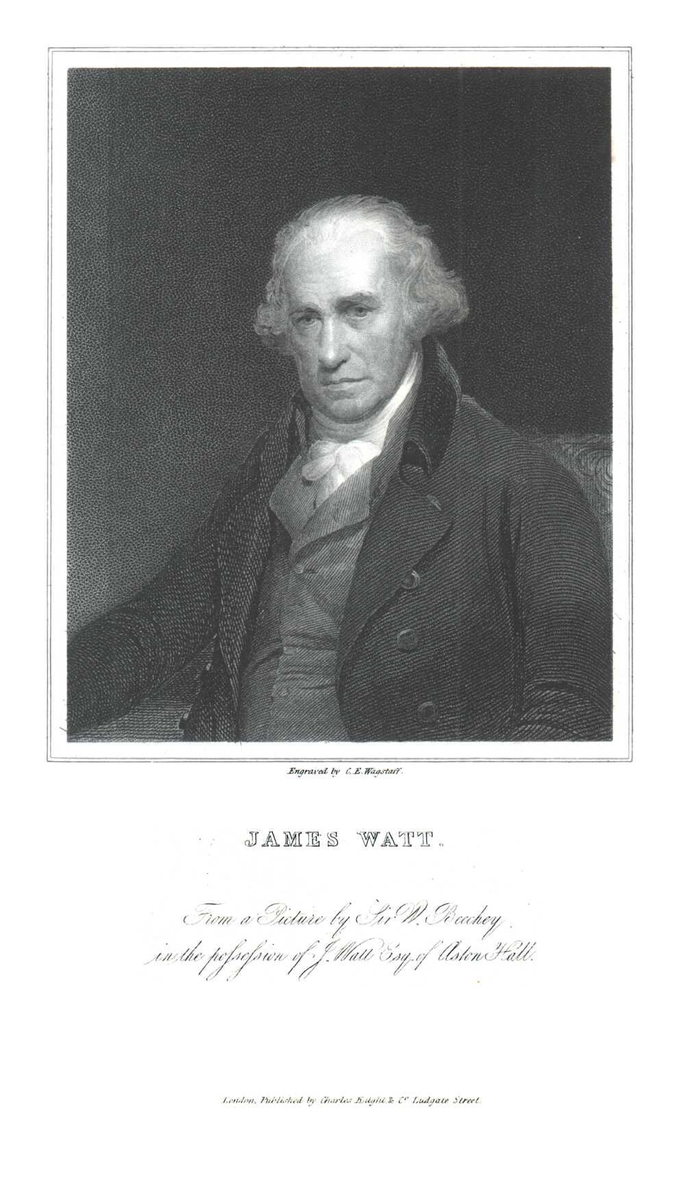 Portrait of James Watt,  Image number:SIL14-W001-13a