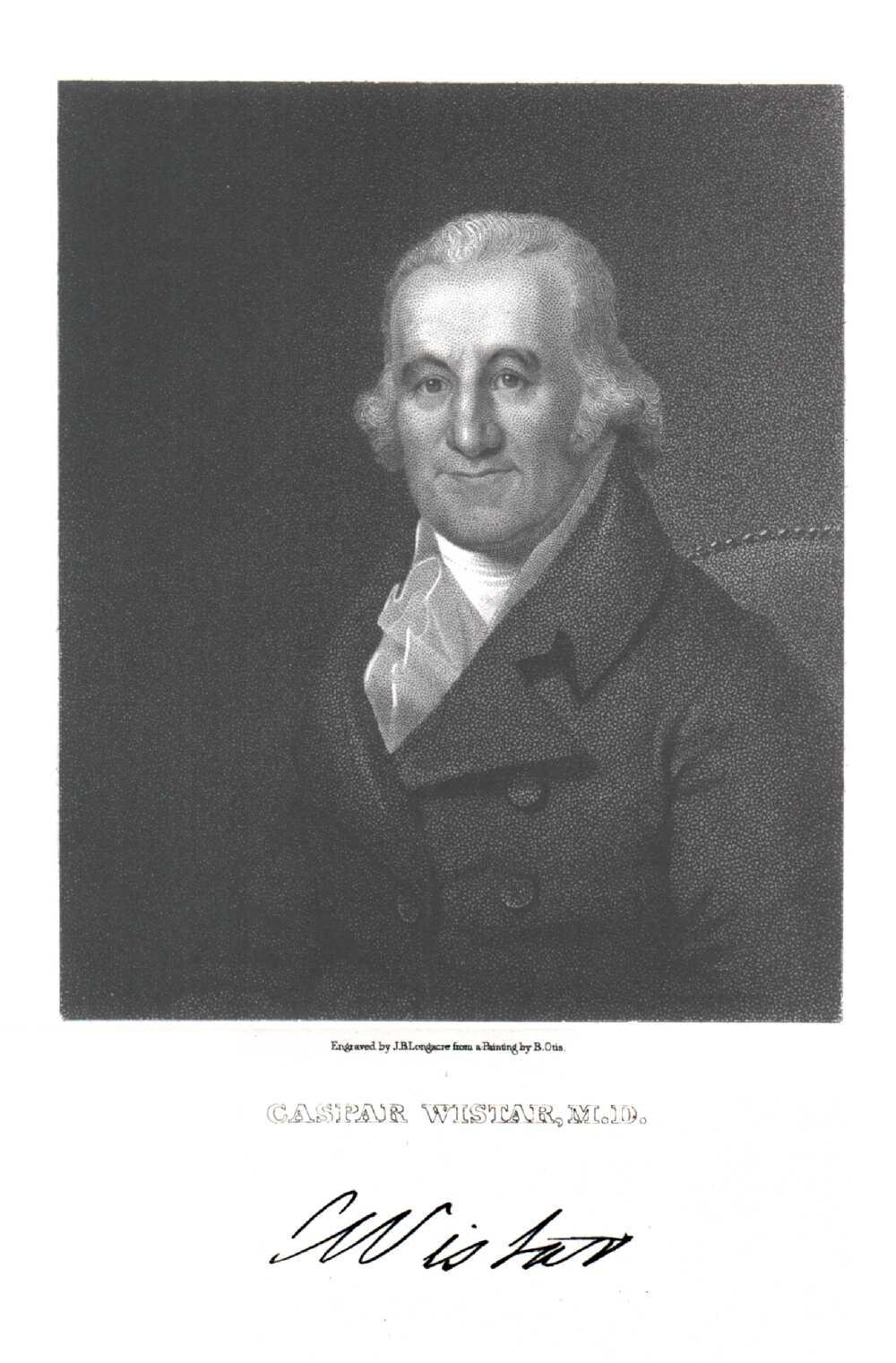 Portrait of Caspar Wistar,  Image number:SIL14-W004-05a