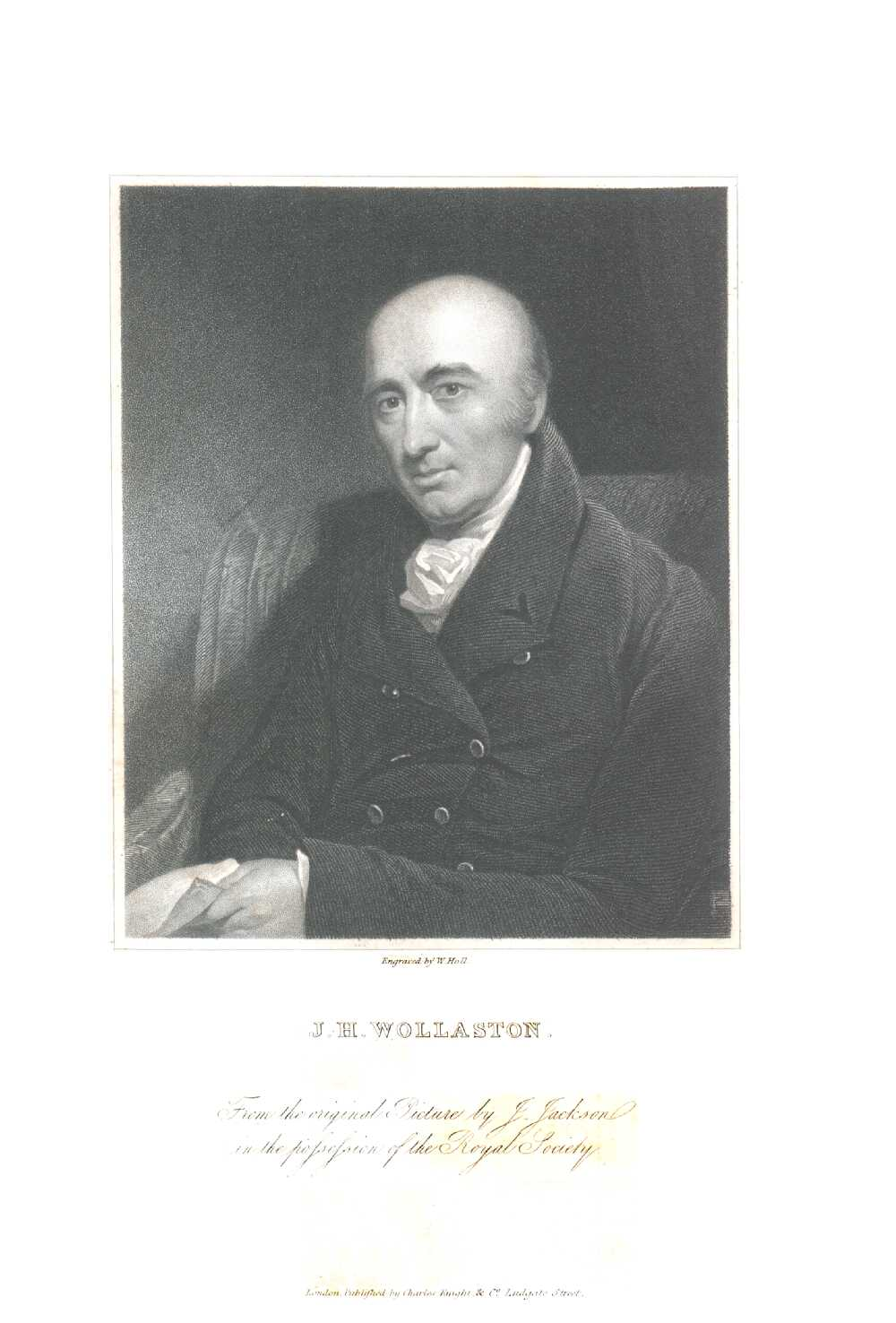 Portrait of William Hyde Wollaston,  Image number:SIL14-W005-07a